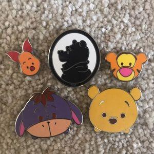 Winnie the Pooh Trading Pins